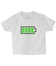 Load image into Gallery viewer, Full Battery Baby T Shirt