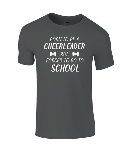 CIP: Born to be a Cheerleader Kids T-Shirt
