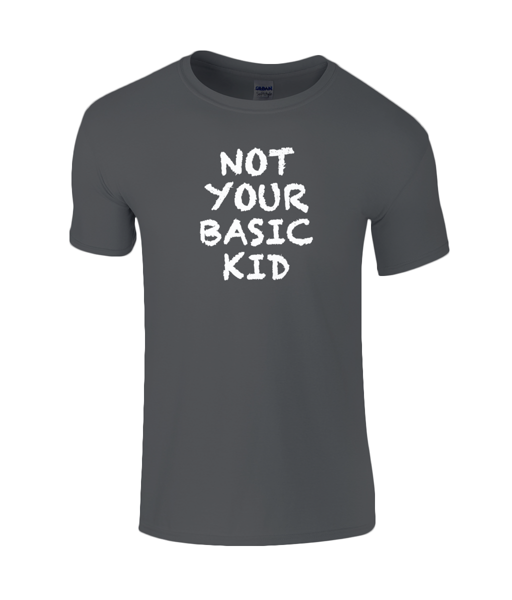 Not Basic Kids T-Shirt