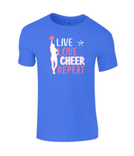 Load image into Gallery viewer, CIP: Live Love Cheer Kids T-Shirt