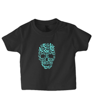 Load image into Gallery viewer, Bat Skull Baby T Shirt