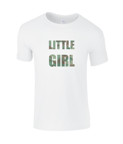 Little Girl Kids  T-Shirt