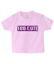Load image into Gallery viewer, Too Cute Pink Leopard Baby T Shirt