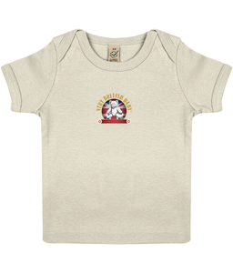 EPB01 Baby Lap T-shirt Very British Baby in ORGANIC Cotton