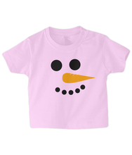 Load image into Gallery viewer, Snowman Baby T Shirt