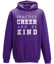 Load image into Gallery viewer, CIP: Cheer and be Kind Kids Hoodie