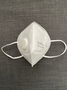 FFP2 Face Mask WITH VALVE, N95 folded Protective Mask