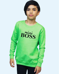 Mini Boss Sweatshirt