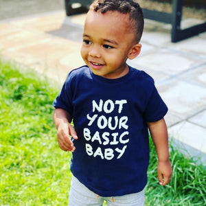 Not Basic Baby T Shirt