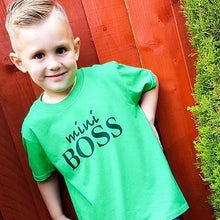 Load image into Gallery viewer, mini Boss Kids T-Shirt