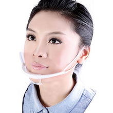 Load image into Gallery viewer, Mouth Shield PPE Plastic Face Mouth Visor Protection - Pack of 10 pcs