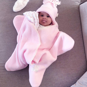 Adorable Baby Starfish Design Hooded Sleeping Bag
