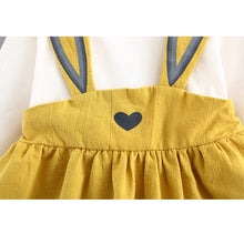 Load image into Gallery viewer, Cute Bunny Design Dress for Baby and Toddler Girl