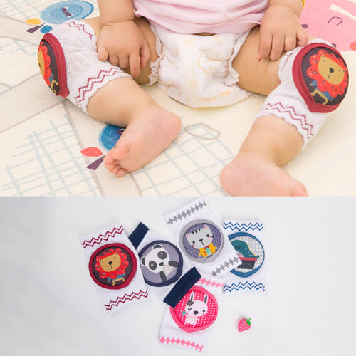 1-pair Animal design soft Anti-Slip Knee Pads for Baby