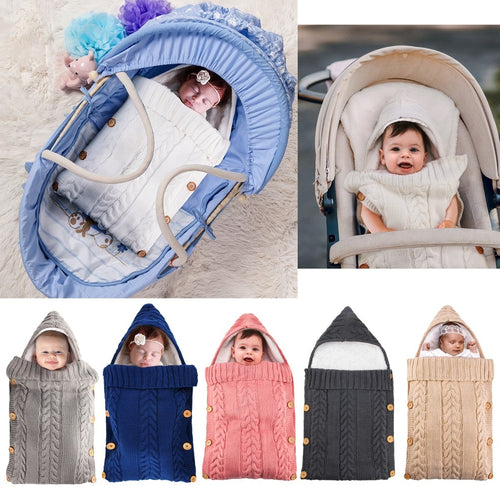 Cute Baby Wrap Swaddle Sleeping Bag