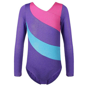 Long Sleeve Gymnastics Leotard