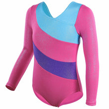 Load image into Gallery viewer, Long Sleeve Gymnastics Leotard