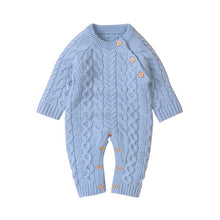Load image into Gallery viewer, Baby Boy / Girl Knitted Long-sleeve Jumpsuit
