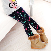 Load image into Gallery viewer, Trendy Printed Fleece-lining Warm Leggings