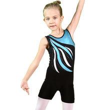 Load image into Gallery viewer, Sleevless Gymnastics Unitard (Leotard)