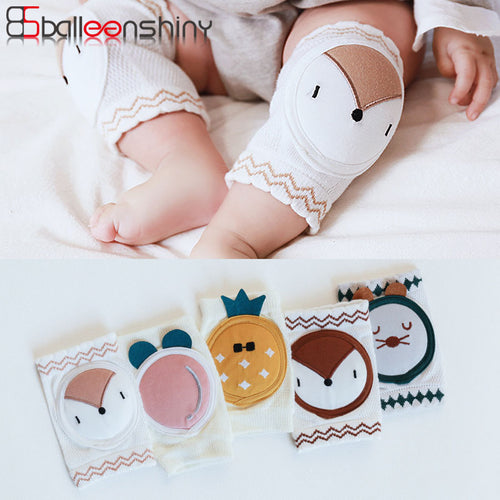 1-pair Cute Soft Anti-Slip Knee Pads for Baby