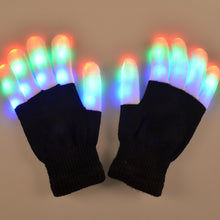 Load image into Gallery viewer, Light-Up LED Flashing Gloves Glow In The Dark For Children