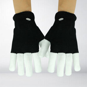 Light-Up LED Flashing Gloves Glow In The Dark For Children