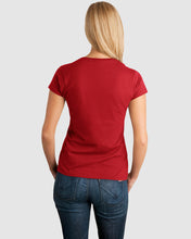 Load image into Gallery viewer, Prosecco Ladies Fitted T-Shirt