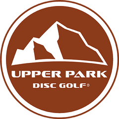 Upper Park Disc Golf new logo