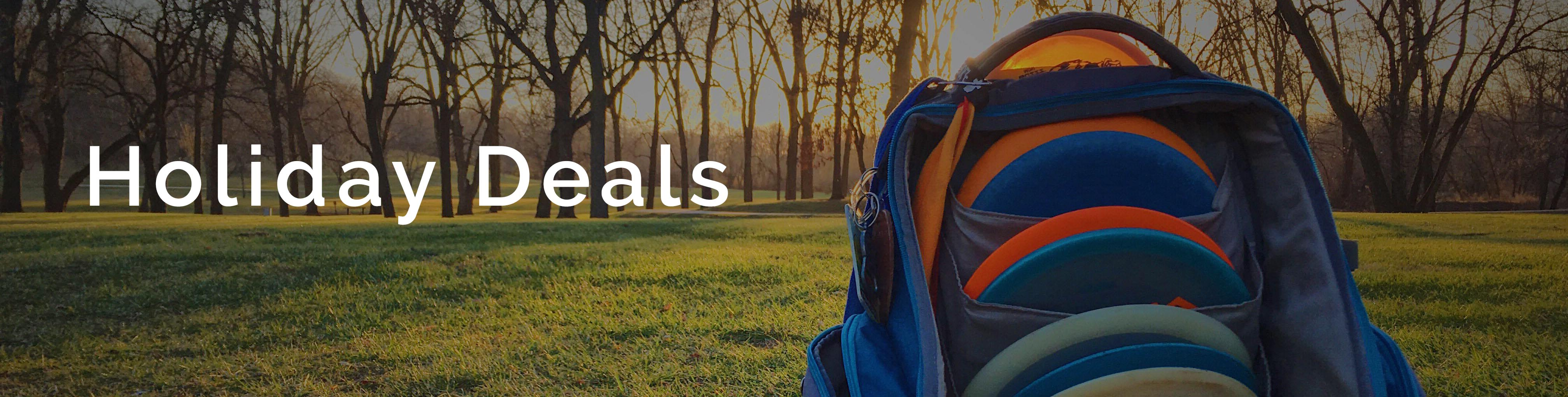 Black Friday Deals Disc Golf Upper Park Backpack Bags