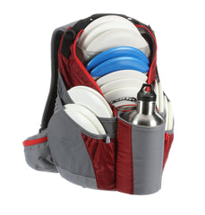 The_Shift_disc_golf_backpack_bag_red