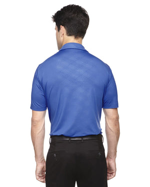 Upper Park Disc Golf Polo - The Ultimate Performance Polo - Blue Back