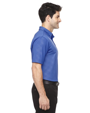 Upper Park Disc Golf Polo - The Ultimate Performance Polo - Blue Side