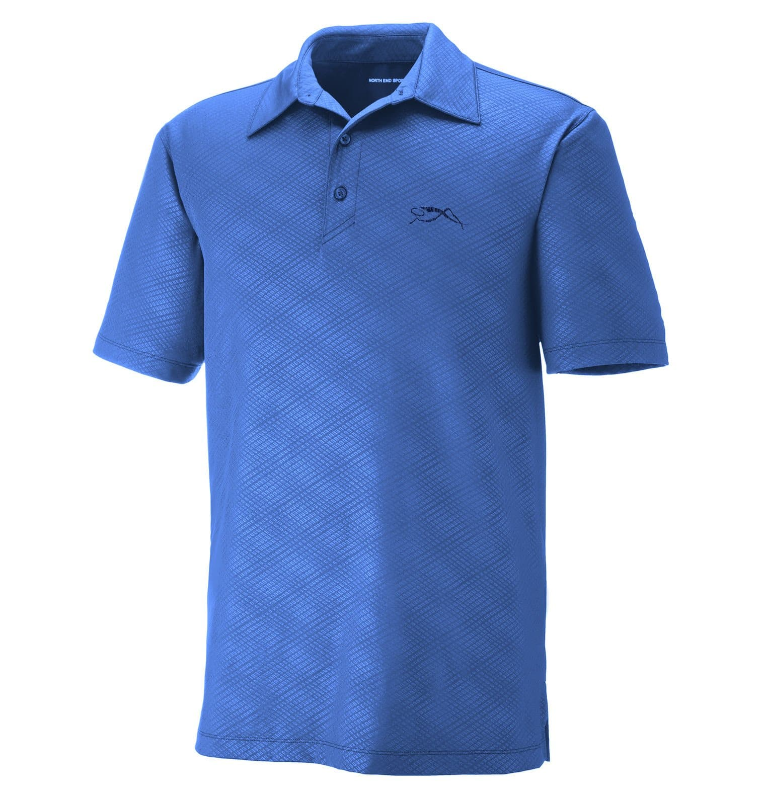 Upper Park Disc Golf Polo - The Ultimate Performance Polo - Blue