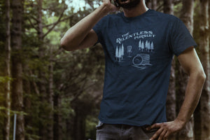 Upper Park Disc Golf Shirts - The Relentless Pursuit T-Shirt