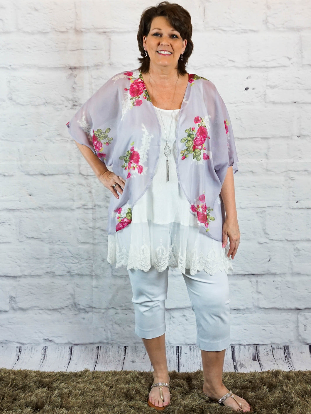 Top Lainey - White - The Ruby Lotus Boutique