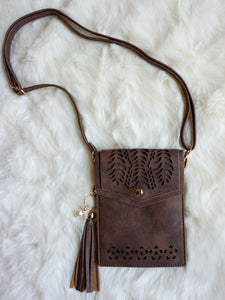 Bag Enid - Coffee - The Ruby Lotus Boutique