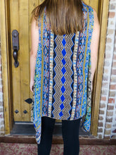 Top Rebecca - Blue - The Ruby Lotus Boutique