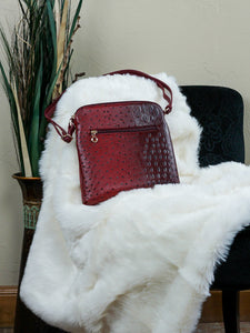 Bag Checotah - Red - The Ruby Lotus Boutique
