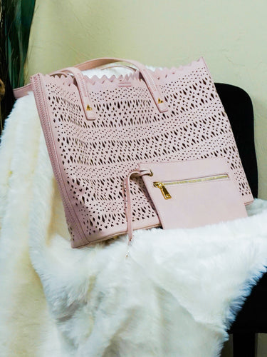 Bag Claremore - Blush pink - The Ruby Lotus Boutique
