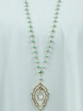 Jewelry Florence - Long Chain Necklace Set - The Ruby Lotus Boutique