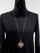 Jewelry Moscow - Beige Long Chain Necklace Set - The Ruby Lotus Boutique