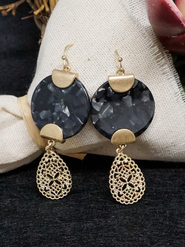 Jewelry Oxford- Black - The Ruby Lotus Boutique