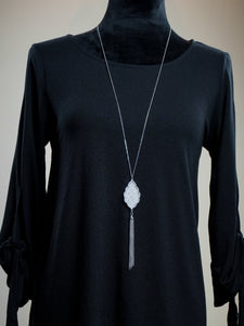 Jewelry Vancouver - Long Chain Necklace Set - The Ruby Lotus Boutique