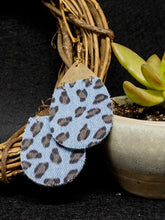 Jewelry Santiago- Light Blue Leopard - The Ruby Lotus Boutique