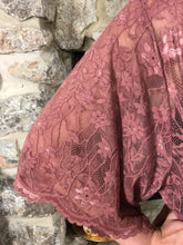 kimono Betty - Dusty Rose - The Ruby Lotus Boutique