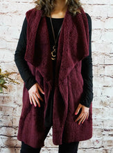 Outerwear April - Burgundy - The Ruby Lotus Boutique