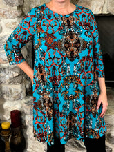 Top Grace - Teal - The Ruby Lotus Boutique