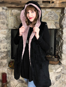 Outerwear Kiely - Black - The Ruby Lotus Boutique