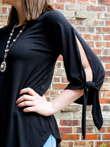 Top Mariah - Black - The Ruby Lotus Boutique